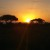 Sunset views from Amboseli National Park